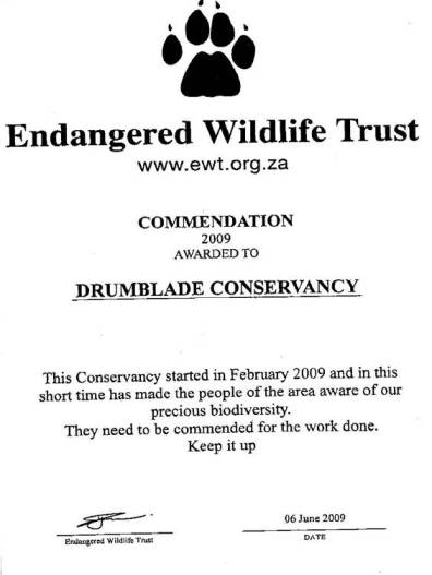 Drumblade Conservancy